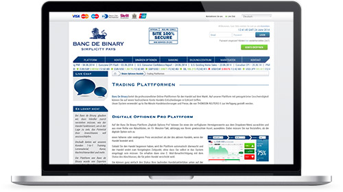 Review Website banc-de-binary
