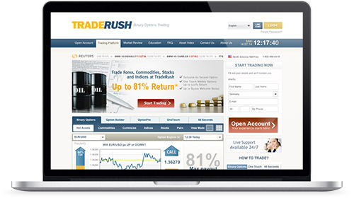 Review Website traderush